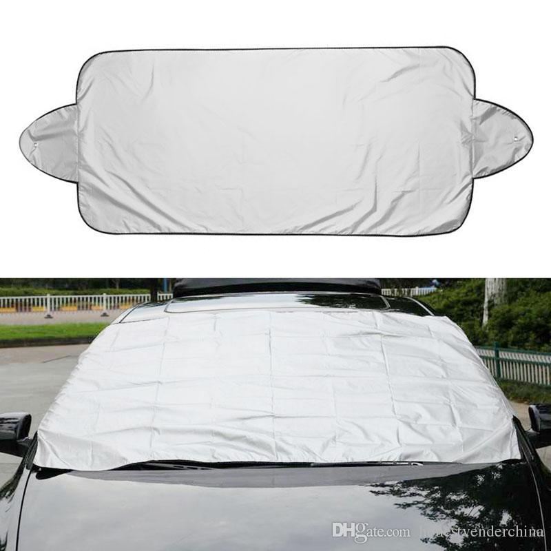 Protéger la couverture de pare-brise de voiture de neige, de glace, de soleil, d'ombre de soleil, de poussière et de givre