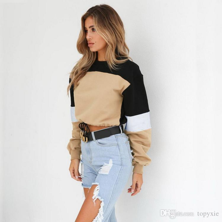 New Fashion Women Hot selling trend Women's Wear Explosive Tie-and-tie Student T-shirts and Sanitary Clothes leiaure