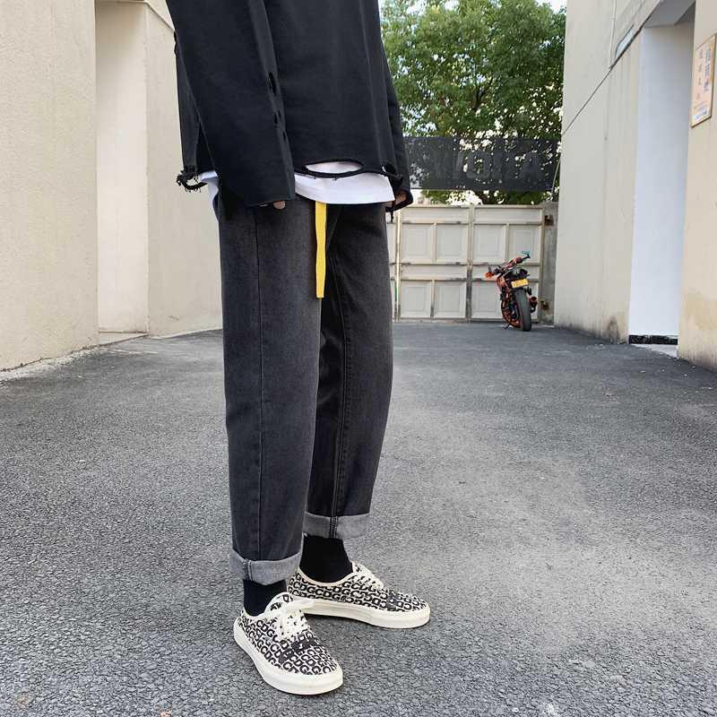 Jeans für Männer Trend Slim Fit Pants Klassik 2020 Sommer-Jeans-Hose-beiläufige gerade Hosen Fashion Bleistift