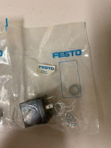 VIEL (2) FESTO MSFG-24 / 42-50 / 60-DS-OD Solenoidspule # 34 412 NEW INVENTORY SHOP