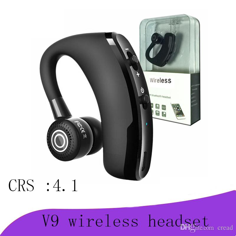 High Quality V9 Wireless Bluetooth Headphones Csr 4 1 Business Stereo Wireless Earphones Earbuds Headset With Mic Voice Control With Package Bluetooth Headsets Bluetooth Earphones From Cread 5 71 Dhgate Com