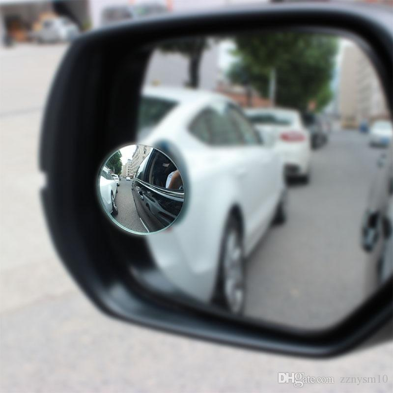 Europe 2Pcs Universal Car Auto 360 Side Wide Angle Convex Rear Side View Blind Spot Mirror
