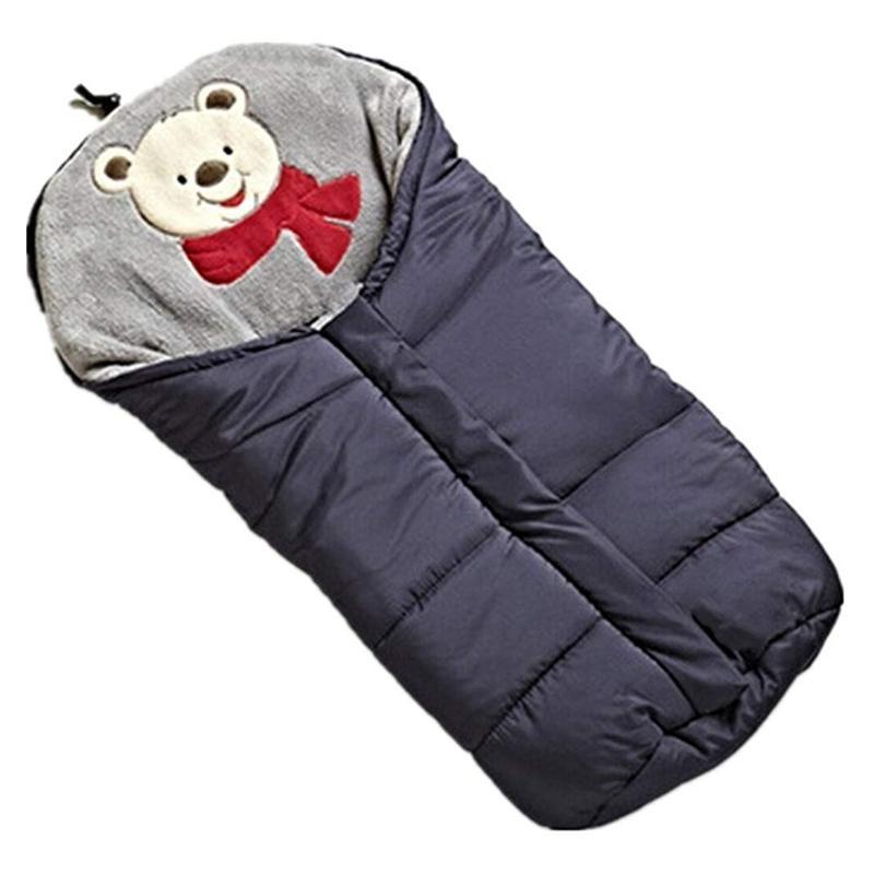 Зимние спальные мешки младенца Конверт для коляски для новорожденных коляски спальные мешки 0-6M