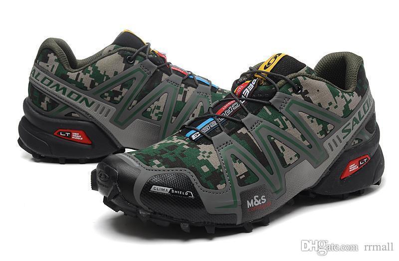 2019 nuovo Solomon Speed Cross 3 CS III Outdoor Maschio Camo Rosso Nero Scarpe sportive uomo Velocità Croce velocità 3 scarpe da corsa eur 40-46 rrmall