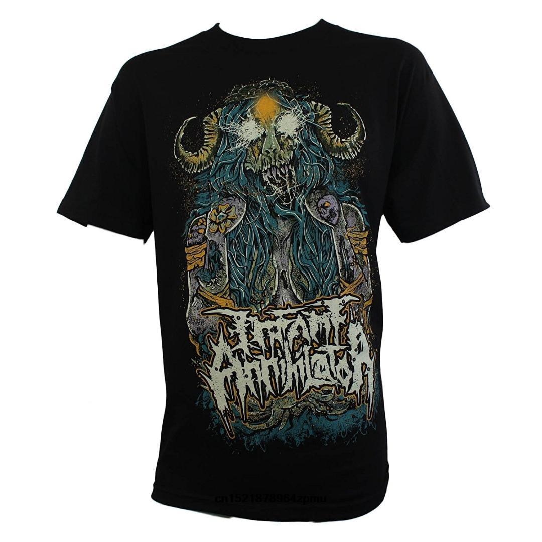 T shirt Uomo INFANTILE Annihilator Banda Cornuto Sacerdotessa divertente maglietta donne novità tshirt