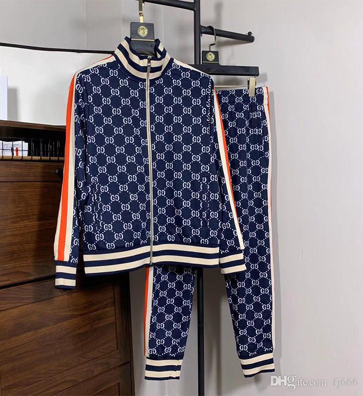 남성 재킷 세트 스웨터 정장 조깅 정장 스포츠 정장 남성 여성 캐주얼 스포츠웨어 운동복 운동복 재킷 의류 G18
