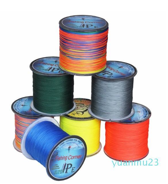 All'ingrosso-Guadagnare 8 fili da pesca Linea intrecciata Giappone multifilamento PE Braid Line una a colori per tester PE Pesca 10lb - 200LB