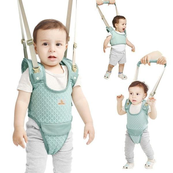 Baby Walker Toddler Walking Assistant Functional Safety Walking Harness Walker for 7-24 Months Baby Learn Stand Up and
