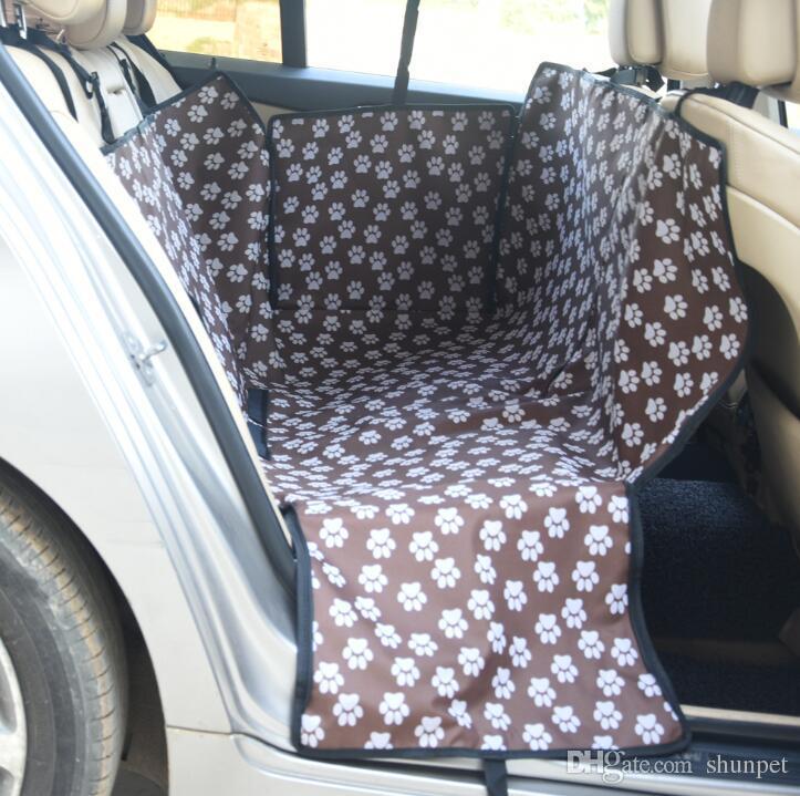 ماء الكلب غطاء مقعد السيارة للحيوانات الاليفة سيارة المقعد الخلفي غطاء الأرجوحة المقعد الخلفي حامي 1 قطع هبوط السفينة