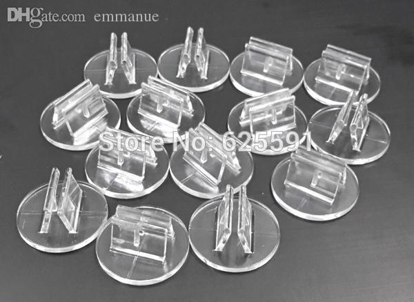 soporte de plástico transparente de alta calidad al por mayor de la tarjeta de papel de 2 mm, componentes del juego de mesa