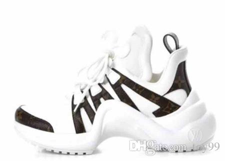 Kutu Sneaker Rahat ayakkabılar Eğitmenler Moda spor ayakkabı Eğitmenler Ile En Kaliteli ayakkabı Kadın Ücretsiz DHL ...