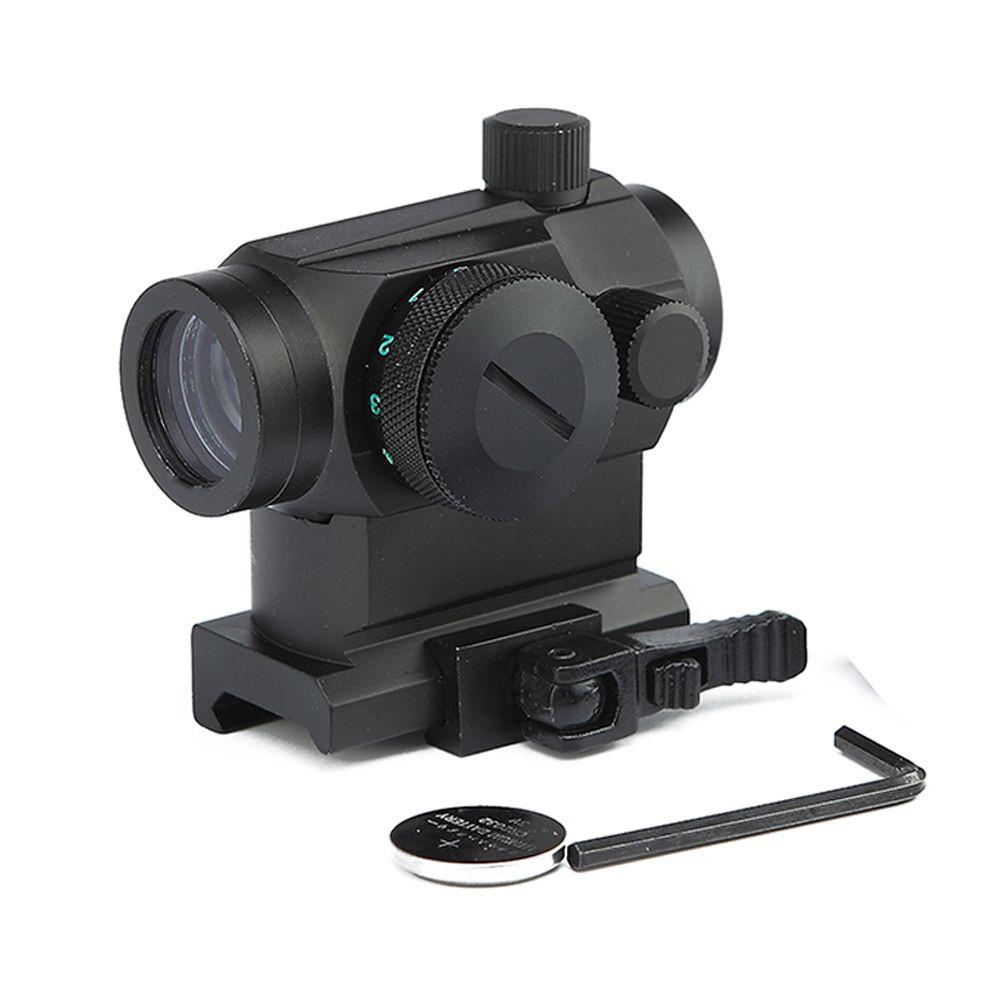 Тактические Охота 1X22 Red Green Dot Sight Scope С Quick Release Lever и 20мм Picatinny Weaver Rail Mount.