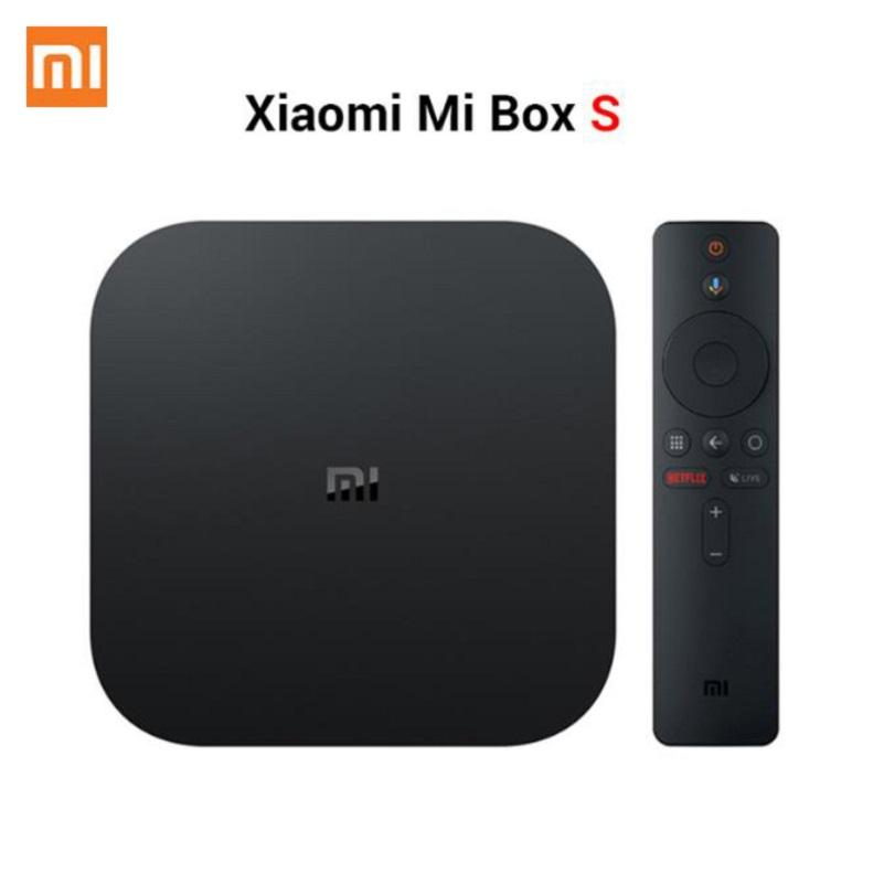 Xiaomi Youpin Mi TV Box S 4 Android 8.1 4K HD QuadCore Akıllı Bluetooth 2GB 8GB HDMI WiFi Seti UP Boxs Media Player