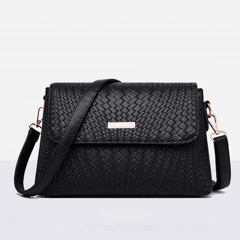 Kadın Omuz Çanta İçin Kadınlar 2020 Pu Deri Çantalar ve Çanta Yeni Tasarımcı Bayanlar Omuz Çantası