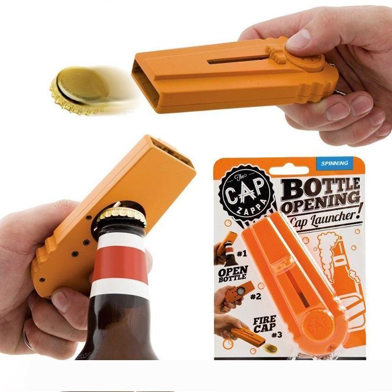 Anahtarlık, Cap Fly Bar Mutfak bira şişe açacağı Cap Fırlatıcı anahtarlık hediye çekim başlatıcısı Cap Zappa şişe açılış kapağı