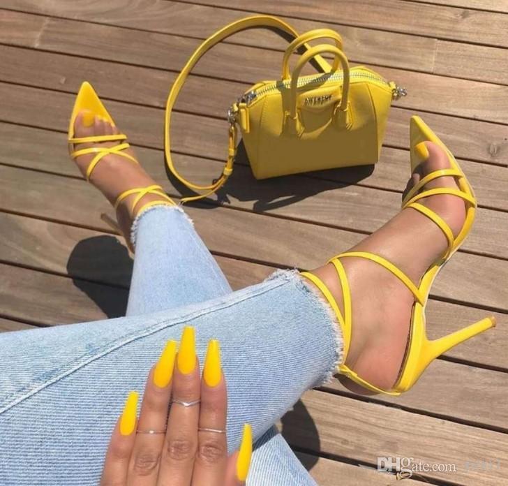 Kadınlar Marka sandalet yılan baskı strappy katır topuklu sandaletler terlik yüksek topuklu çevirme kare ayak parmağı slaytlar parti ayakkabı 35-43 Büyük boyutunu flop 11cm