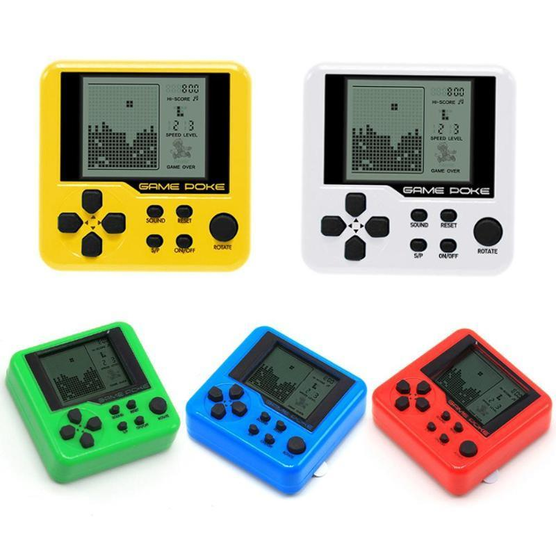 Portable Mini Electronic Game Machine Build-in 26 Games Mini Handheld Game Player Childhood Classic Retro Console For Kids Child