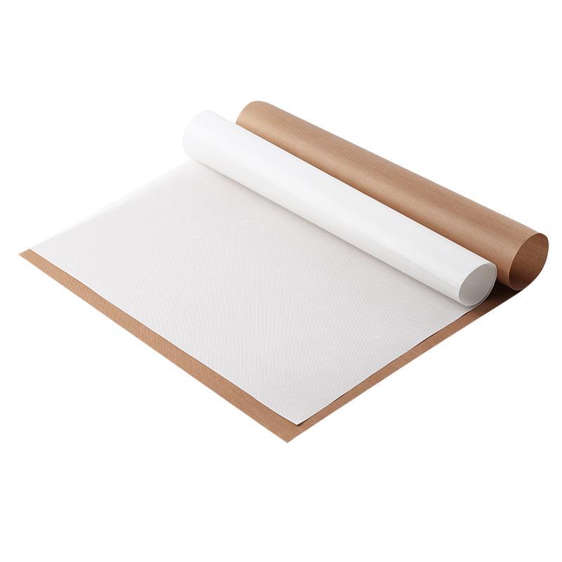مقاومة للحرارة قابلة لإعادة الاستخدام الخبز حصيرة درجة الحرارة العالية تفلون مقاومة ورقة المعجنات الخبز Oilpaper الوسادة غير لاصقة للشواء في الهواء الطلق