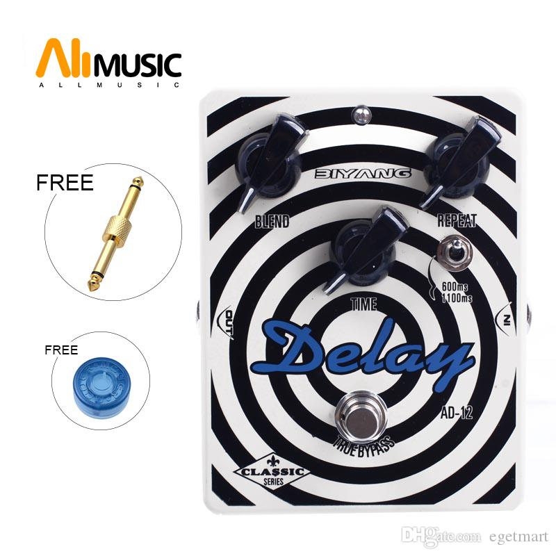 Biyang AD-12 Electric Guitar Bass Effect Pedal Double Chip Analog Delay Guitar Effect Pedal Guitar Accessories