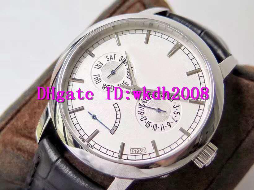 AI TRADITIONNELLE 85290 lujo reloj suizo 2475SC mecánico automático 28800 Fecha VPH reserva de energía Pantalla de acero inoxidable reloj de pulsera