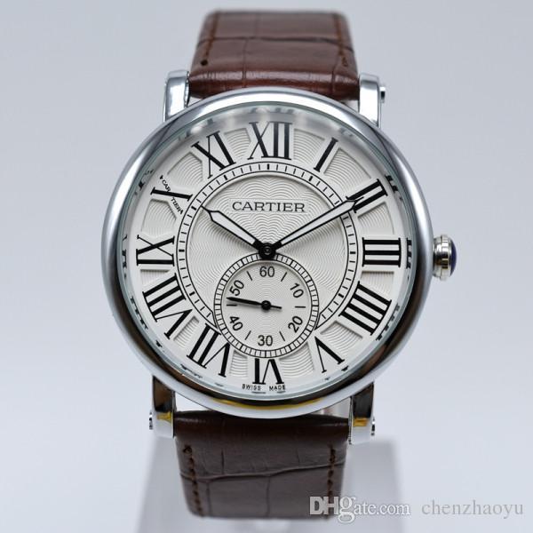 Nouvelle montre chronomètre la mode de haute qualité refroidissement Montre industrie de la mode de montre à quartz étanche luxe hommes