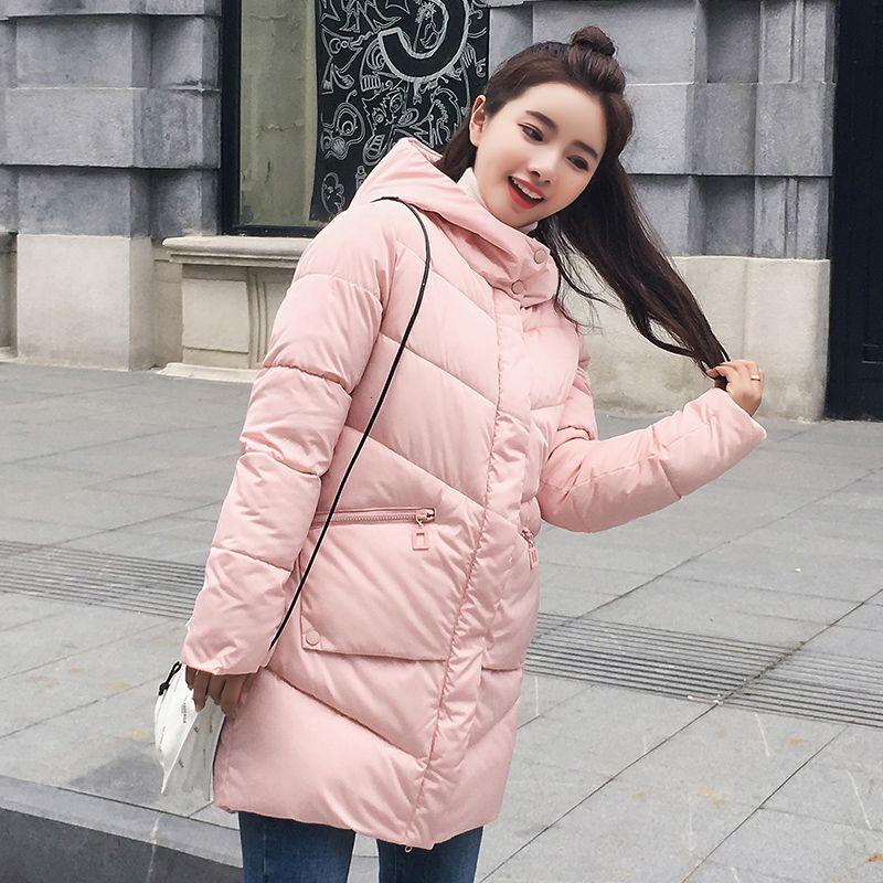 В продаже 2019 весна зима женщины нагретой Толстой балахон пуховик с капюшоном PREMIUM QUALITY утиной толщиной ветровка T191030