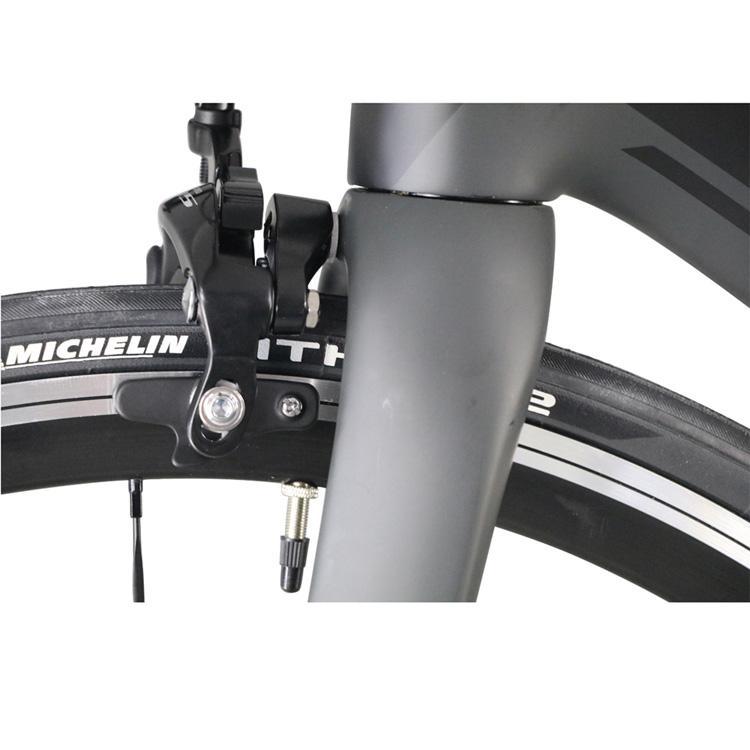 2020 ICAN Poids léger Route Carbone UD Surface Noir Orange Taille 50cm 52cm 54cm 56cm 58cm Vélo de course