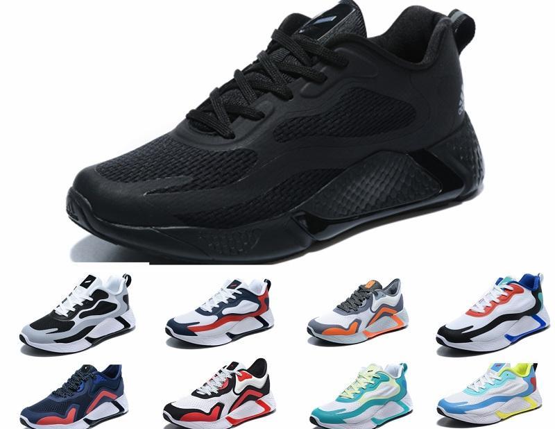 2020 Moda Scarpe AlphaBounce JS2 3M Reflective Scarpe Uomo Al di là M Bouncetm forgiatura Mesh Hpc Ams Designer Shoes con la scatola