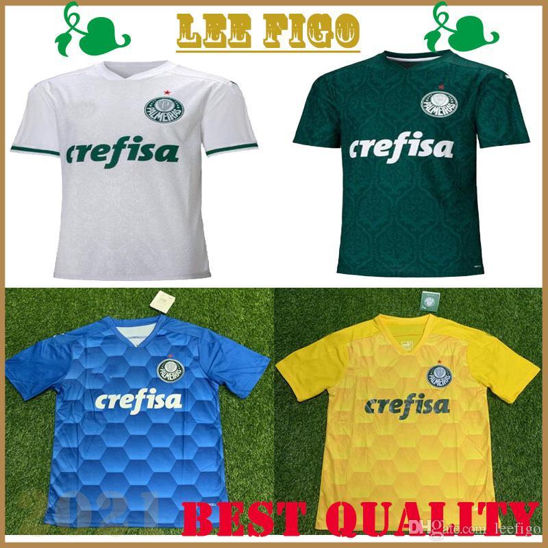 20 nuevos 21 camisetas de fútbol Palmeiras SP 2020 2021 hogar lejos camiseta de fútbol Palmeiras DUDO JEAN Felipe Melo ALLIONE Cleiton hombres hijos kit