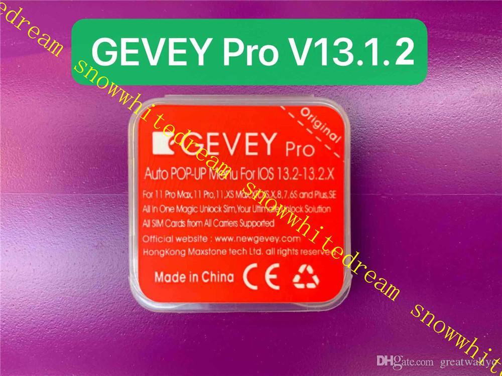 GEVEY 프로 V13 ICCID + MNC 잠금 해제 카드 iPhone11는 최대 XS MAX XR XS 8 7 6 세대 아이폰 OS 13.1.2 프로