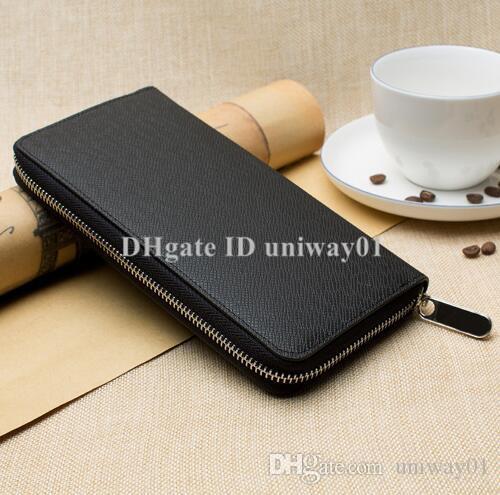 جودة المحفظة المرأة للرجال بطاقة الأصلية مربع حامل محفظة [دمير فحص زهرة