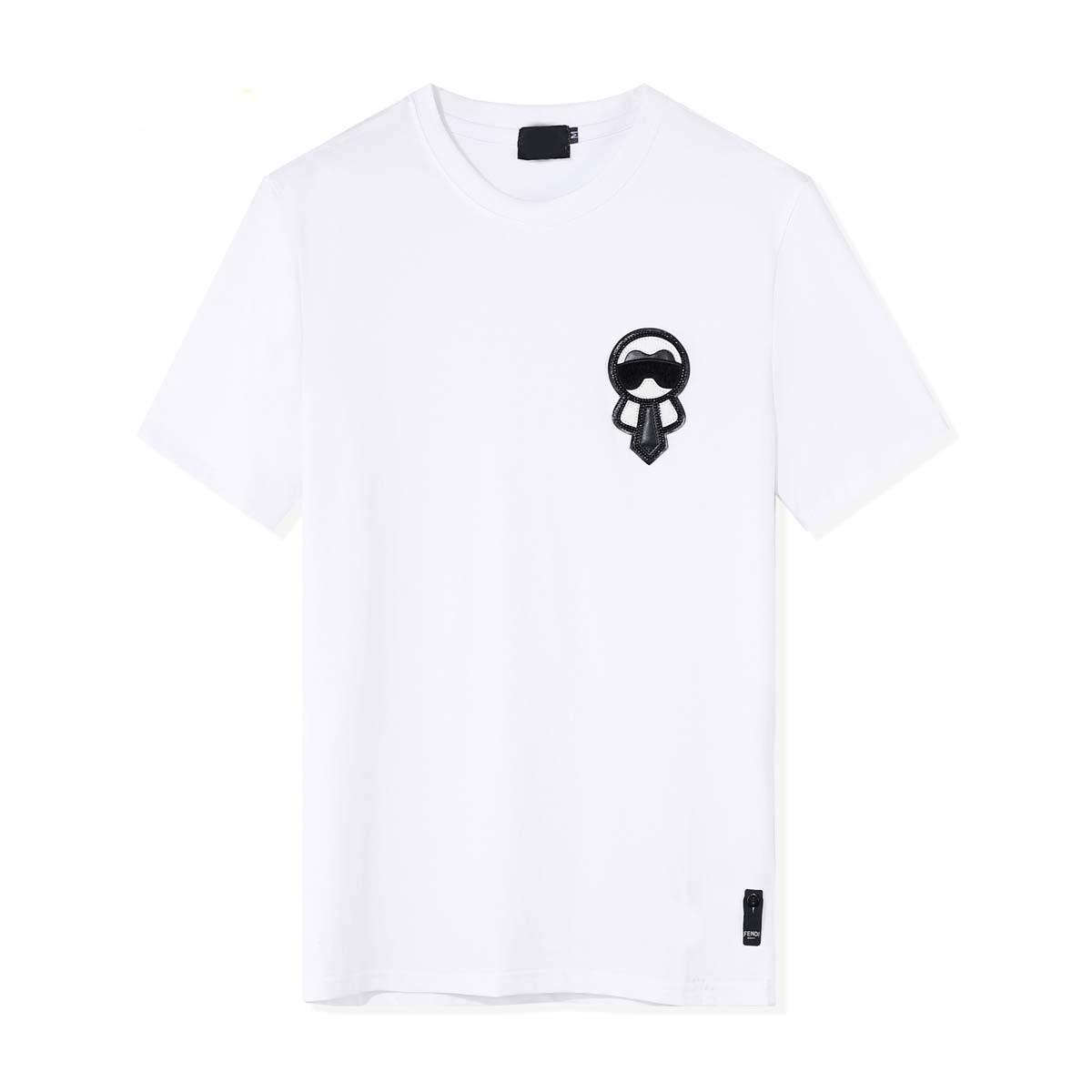 20ss Lusso Europa Francia Vetements In Affitto Torna Big Logo Tshirt moda Mens progettista delle magliette delle donne abbigliamento casual Cotton Tee oq6