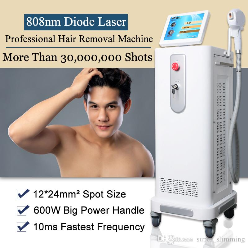 Soprano Ice Diode Laser Hair Removal Machine 808nm Infrared Laser Fast Hair Removal Beauty Salon