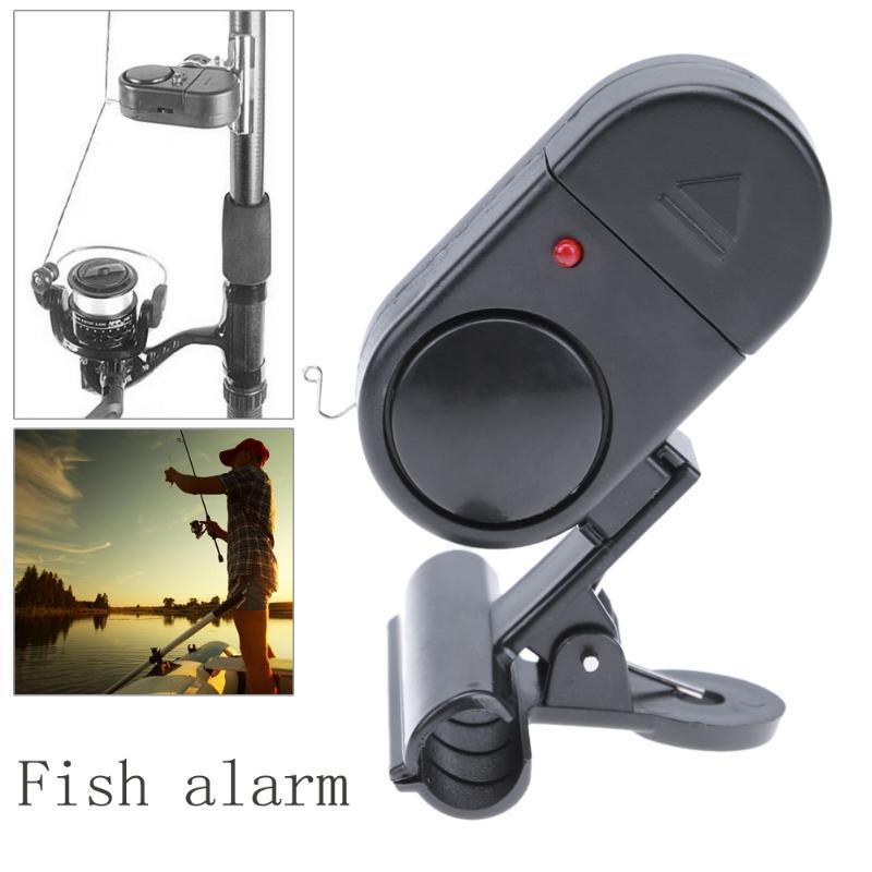 Cheap Tools Fishing Bait Alertor Bell Accessories High Sensitive Digital Bite Alarm Bite Indicator Banding on the Fishing Rod Outdoor Carp