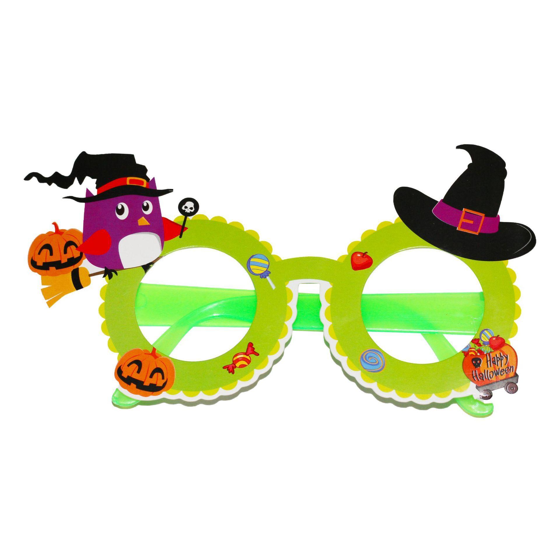مبالغ فيه هالوين نظارات كبيرة مضحك زجاج حزب هالوين الدعائم ديكورات الإبداعية الشخصية مضحك نظارات محاكاة ساخرة ألعاب GGA2685