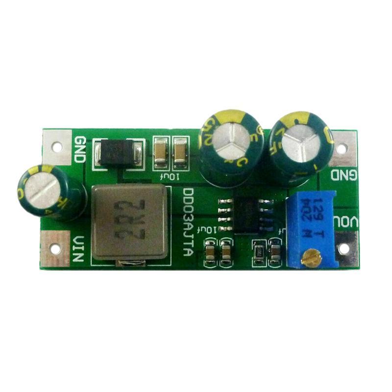 6A Dc 3.3V 3.7V a 5V 6V 9V 12V 15V 24V DC-DC convertitore Boost Modulo Led Ip Ptz