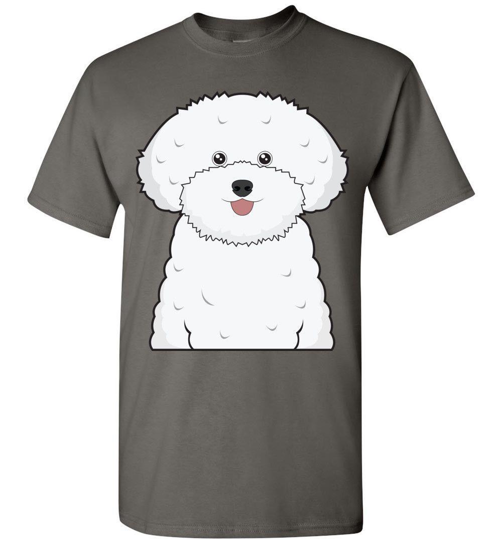 Bichon Frise Dog Cartoon T Shirt Tee Men Women Youth Kids Tank Long Sleeve  Classic Quality High T Shirt T Shirts Buy Online Humor Tees From Goodcup,