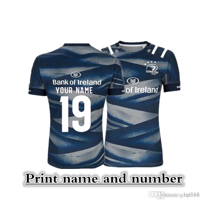 LEINSTER Home Jersey LEINSTER ALTERNATIVAS JERSEY Leinster Rugby Jerseys Irlanda Rugby League tamanho da camisa Camisa S --- 3XL (pode imprimir)