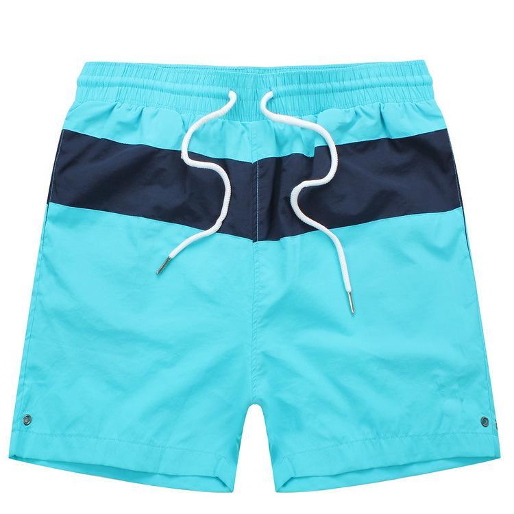Üst Satış Erkekler Plaj Şort 2020 Yaz Patchwork Moda Erkek Polo Kısa Pantolon Tasarımcı Günlük Spor Kurulu Şort Erkek Alt Giyim