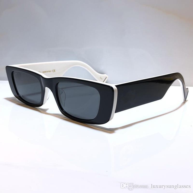 새로운 0516 여성을위한 선글라스 특별한 자외선 차단 여성 스타일 빈티지 작은 사각형 프레임 최고 품질 무료 케이스 0516S