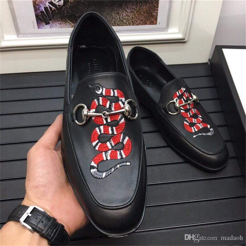 19ss Dropshipping 2020 люкс мужская кожаная обувь Мода свадьба обувь Люкс Мужчины Конструкторы Бизнес Квартиры обувь Большой размер 45