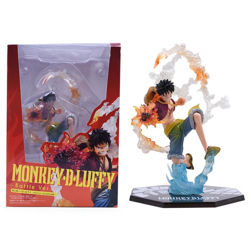 Anime One Piece Monkey D Luffy Kimono Ver PVC Figure Toy New In Box