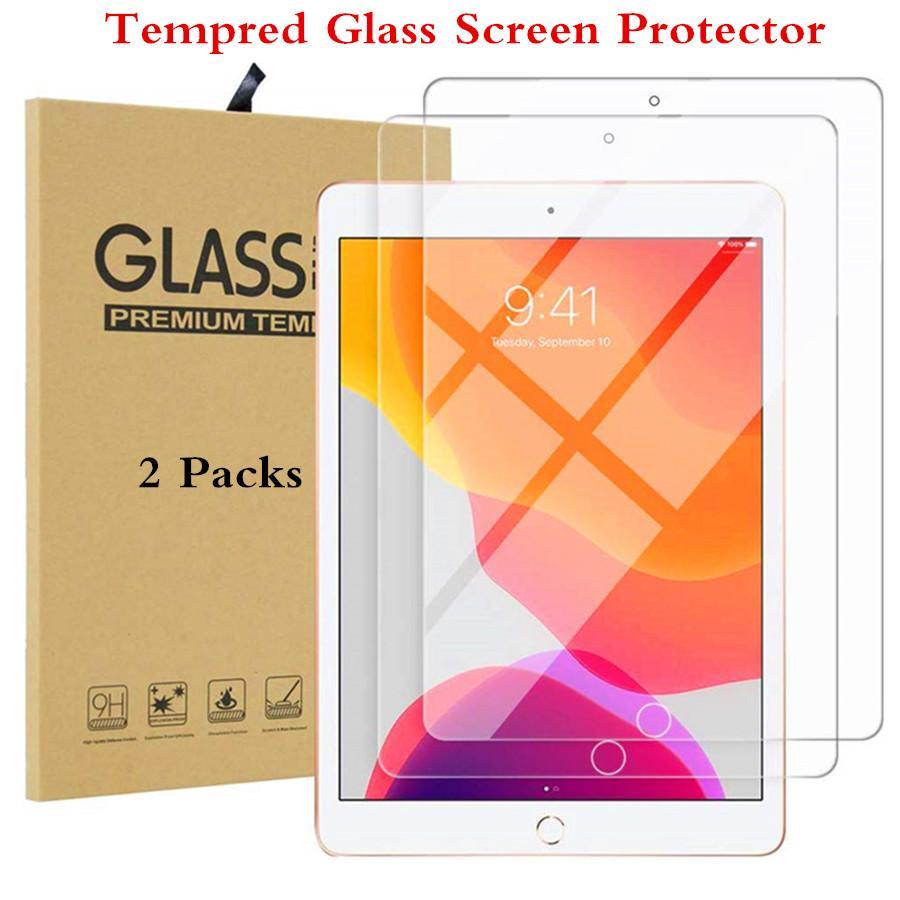 Temperiertes Glas für iPad 10.2 2019 Screen Protector für iPad 7 7. Generation A2232 Tablettenschutzglas