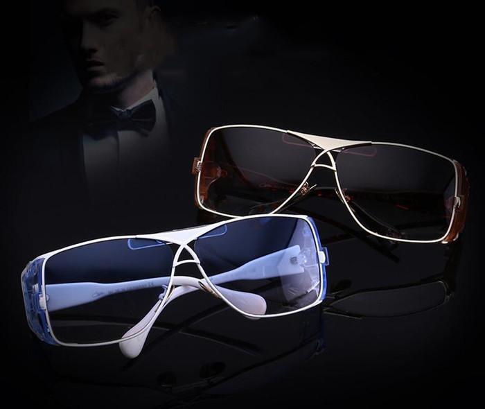 Wholesale-Sonnenbrille Luxus-Sonnenbrille populäre Modelle Sonnenbrille Herren-Sommer-Markenglas UV400 mit Kasten und Logo 955 neues Angebot