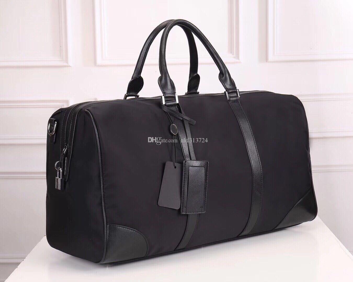 Diseñador bolsas de viaje de lujo de los hombres de bolsas de viaje cuero impermeable Oxford asas de bolsos de moda de lujo gran capacidad de almacenamiento Bolsas