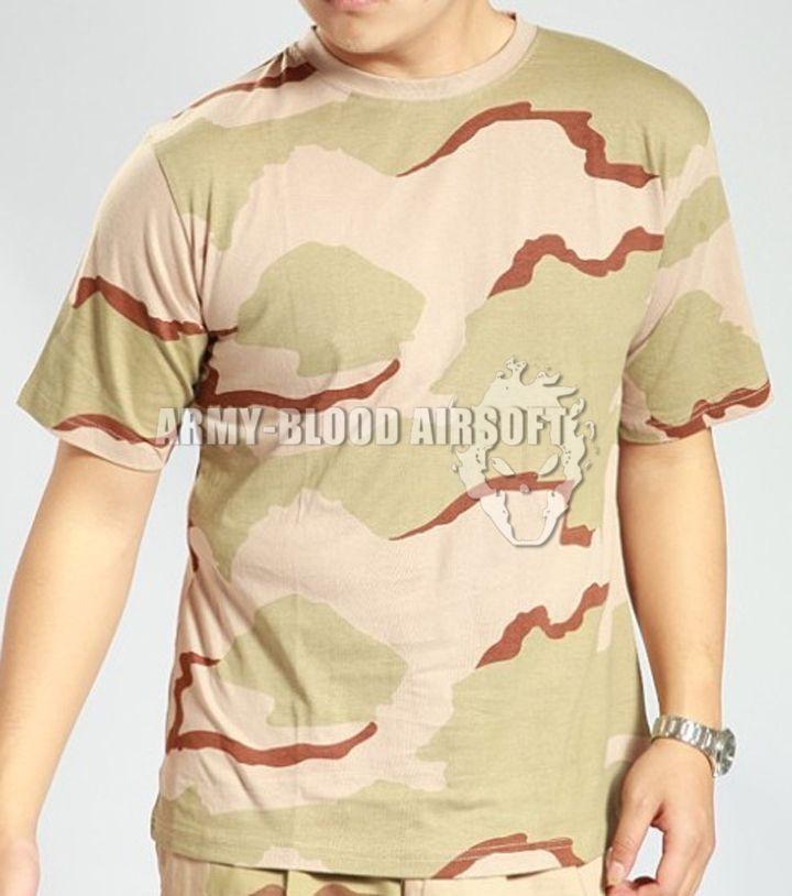MC All-Terrain-Tarnung taktische Kurzarm-T-Shirt Tactical T Shirt Kurzarm (MC ACU Wüstentarnfarbe DW WD DD)