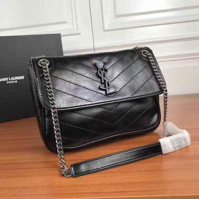 Fabrik Großhandel 2018 neue Handtasche Kreuz Muster Kunstleder Shell Kette Tasche Schulter Messenger Bag Fashionista 225