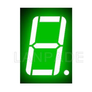 LED 7 segmentos de exibição 0,56 polegadas verde único dígito CA 7SEG Sete Seg Figura-8 DHL frete grátis