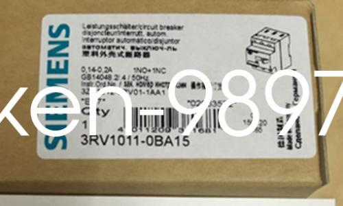 disyuntor 1PC Nueva Siemens Motor 3RV1011-0BA15 0.14-0.2A