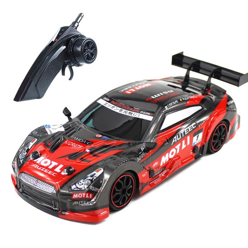 RC Car For GTR/Lexus 4WD Drift Racing Car Championship 2.4G Off Road Rockstar Radio Remote Control Vehicle Electronic Hobby Toys Y200413